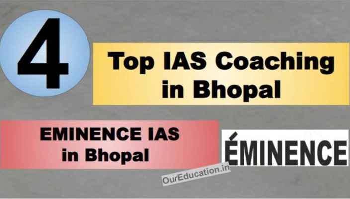Rank 4 Best IAS Coaching in Bhopal