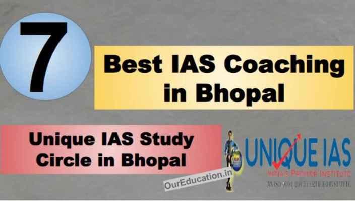 Rank 7 Best IAS Coaching in Bhopal