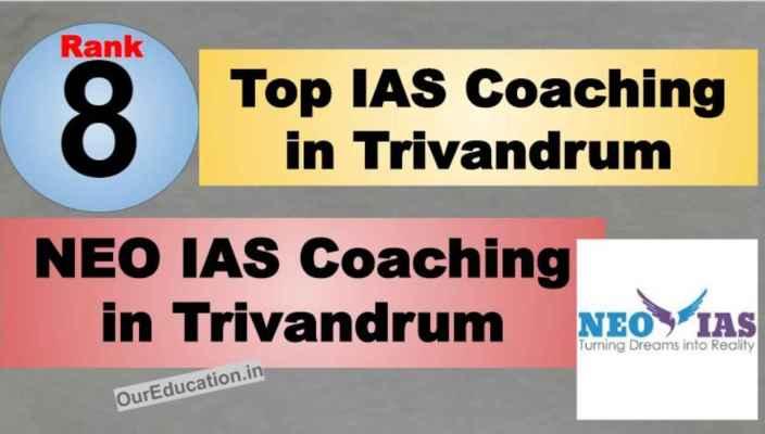 Rank 8 Best IAS Coaching in Trivandrum