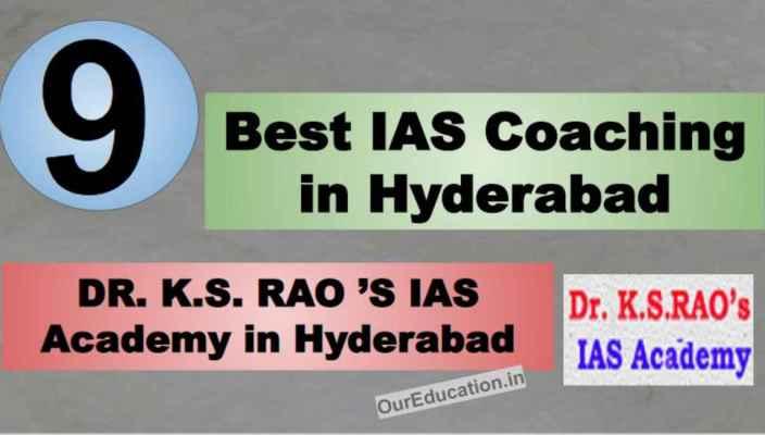 Rank 9 Top IAS Coaching in Hyderabad