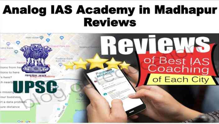 Analog IAS Academy in Madhapur Hyderabad Review