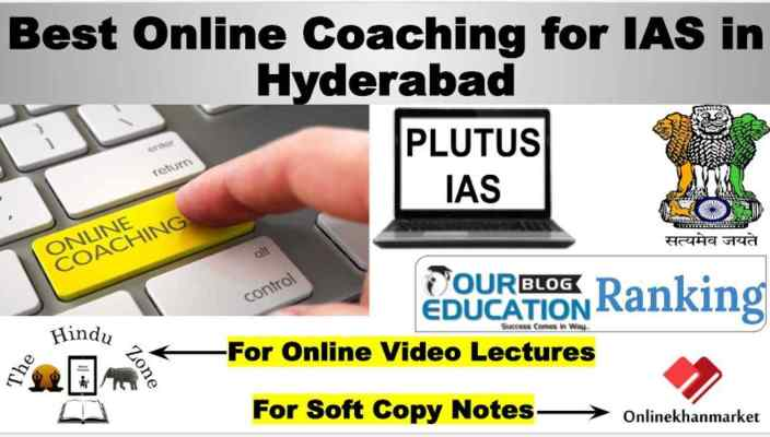 Top Online IAS Coaching in Hyderabad