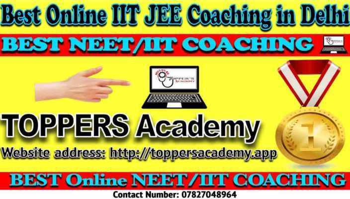 Best Online IIT JEE Coaching in Delhi