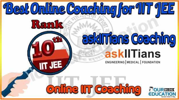 Top Online coaching for IIT JEE