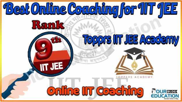 Best Online coaching for IIT JEE