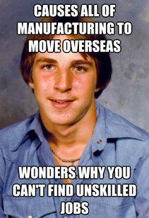 moved jobs overseas