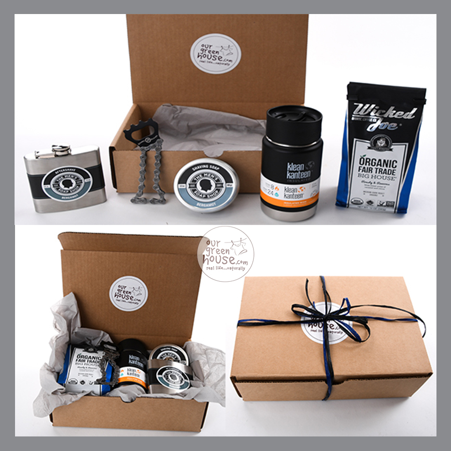 custom gift basket for men