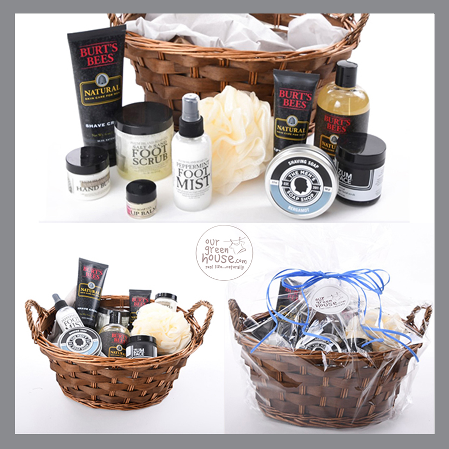 custom men's Easter basket