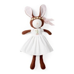 organic stuffed bunny made in usa