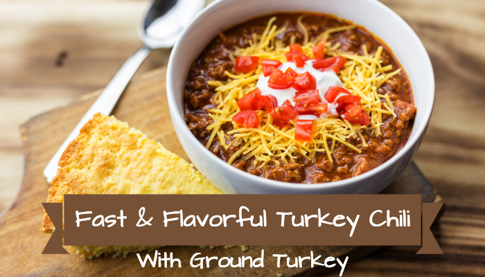 Flavorful Turkey Chili