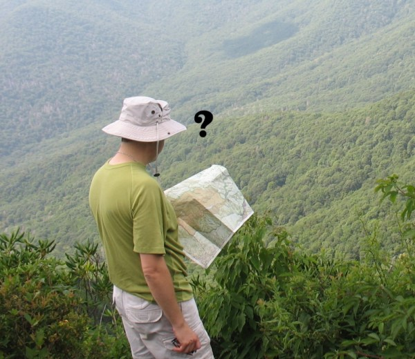 Lost using National Geographic Trail Illustrated Maps