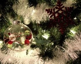 decoración navidad bajo coste
