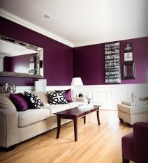 decoración color morado