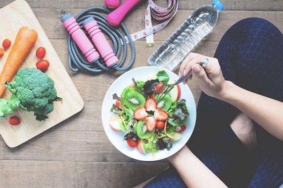 Come bien y haz ejercicio