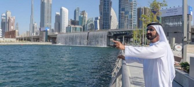 Canale di Dubai: arrivano le case sull'acqua.