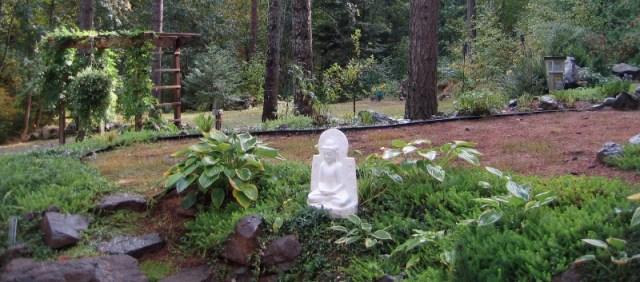 Buddha in the Hermitage Garden
