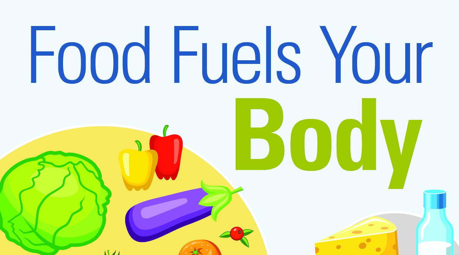 Food Fuels Your Body – Infographic