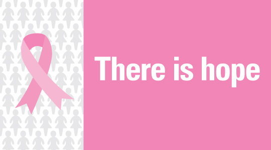 Breast Cancer: There Is Hope – Infographic