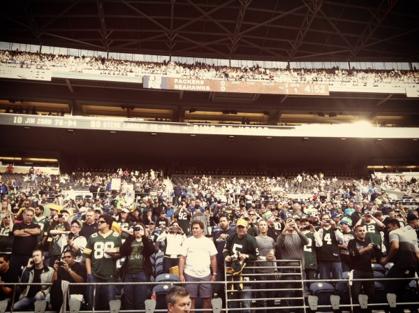 Crowd at CenturyLink Field