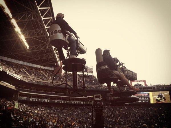 ESPN's Monday Night Football cameras