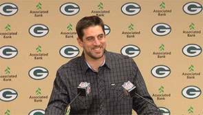 Aaron Rodgers: We're playing good right now