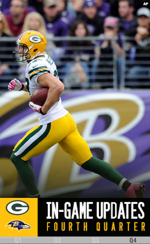 Packers WR Jordy Nelson scores a TD.
