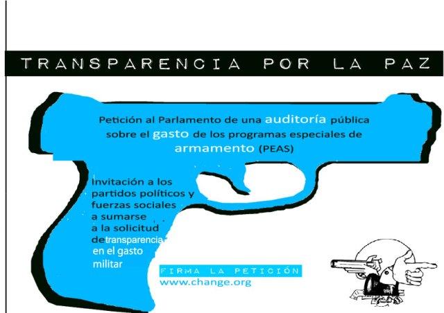 transparencia por la paz