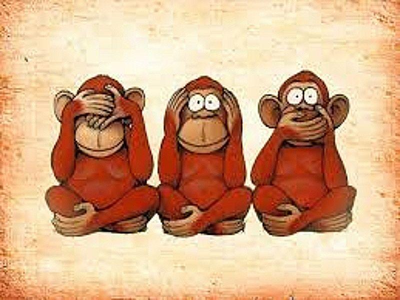 los tres monos