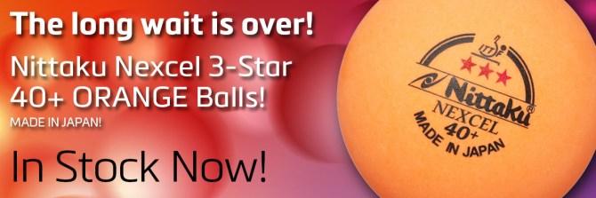 NIttaku 3-Star Nexcel 40+ Orange