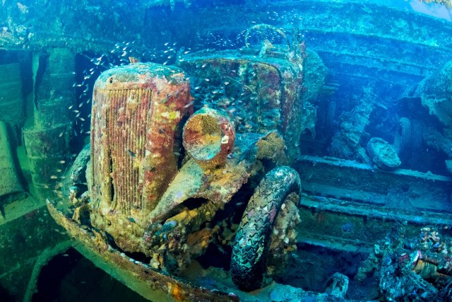 San Francisco Maru Wreck in Truk Lagoon - One of the most extreme dive sites in the world