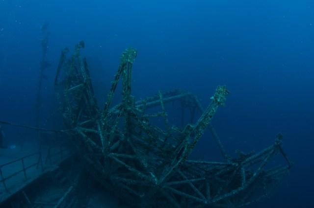 vandenberg wreck florida photo: Jack Fishman