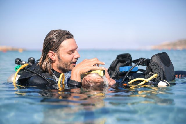 The PADI Rescue Diver Course will teach you the skills to be the best dive buddy you can be.