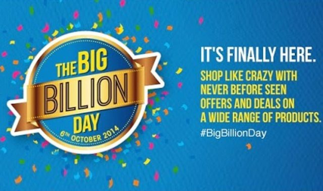 Flipkart annual big billion day sale