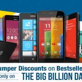 Flipkart Big Billion Days Mobile Sale Live Offers ! More than 40% Off on Top Branded Mobile