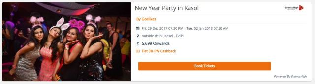 new year party 2018 delhi
