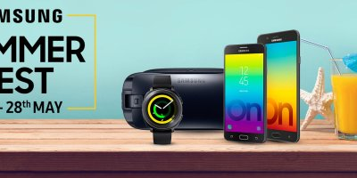 Samsung Summer Fest 22-28 May 2018, citi bank cashback offer