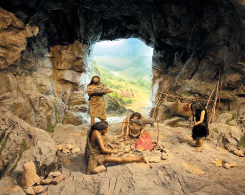 Paleolitická jeskyně
