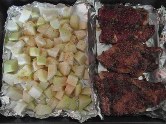 Steaky před pečením