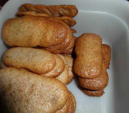 Sušenky na pařížské rohlíčky