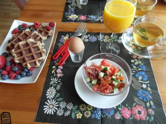 Den 24 snídaně
