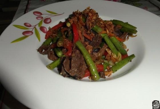 Hovězí hoisin wok