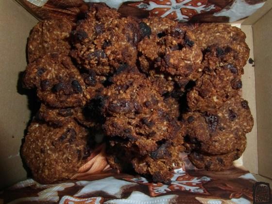 Hotové sušenky v krabičce