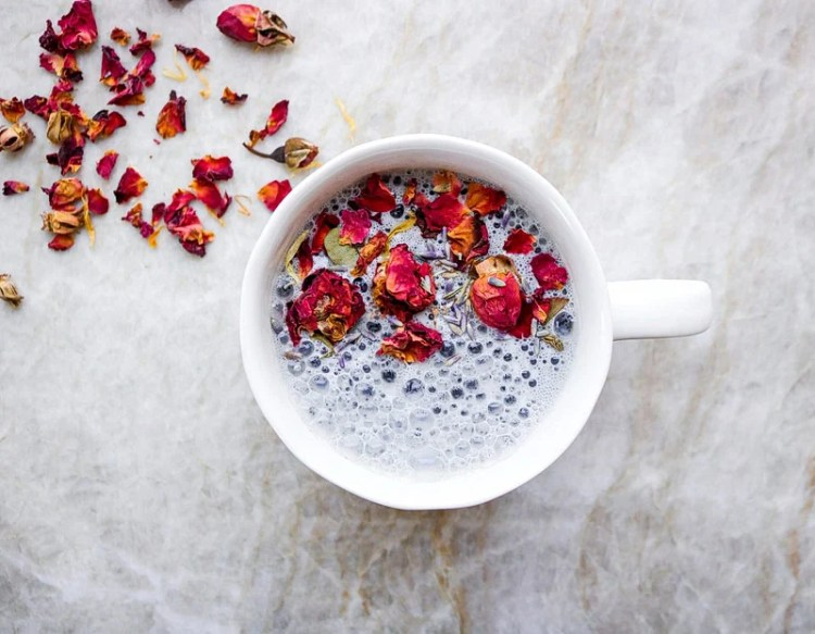 This dreamy sleepy time moon milk is the perfect nighttime drink to sip on to support calmness and to help you ease into a peaceful night's sleep.