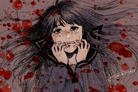 【女の子のイラスト】完璧主義者の苦悩