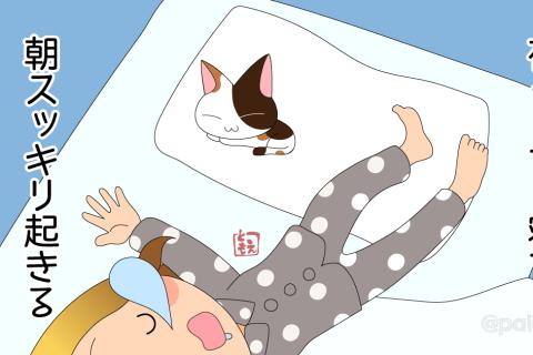 【無料相談】夜ぐっすり寝て朝スッキリ起きる方法はありますか?|回答その2