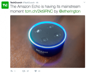 tweet by TechCrunch
