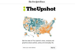 New York Times Upshot newsletter