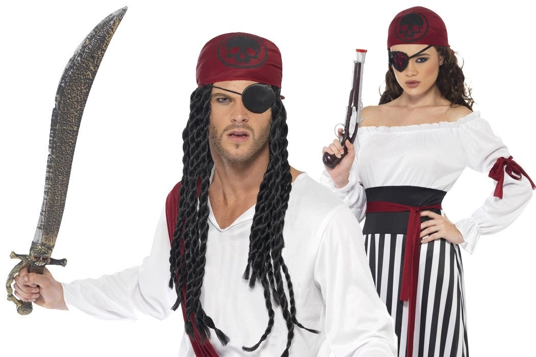 How To Dress Like A Pirate For Less Than 20 Party
