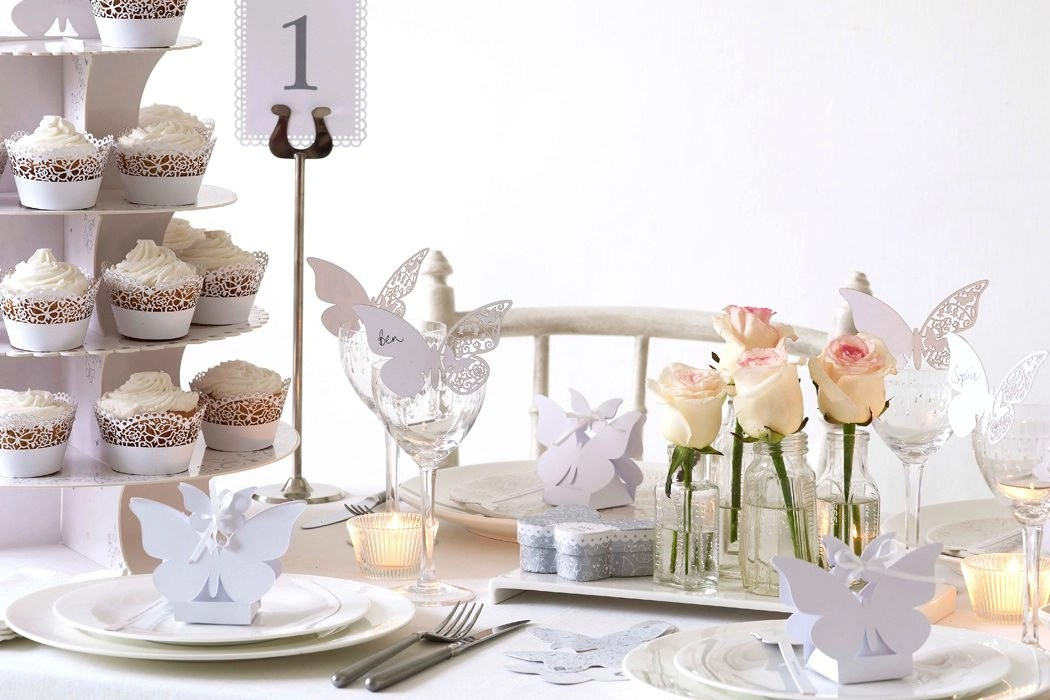 Inspiration For An All White Wedding Theme Party