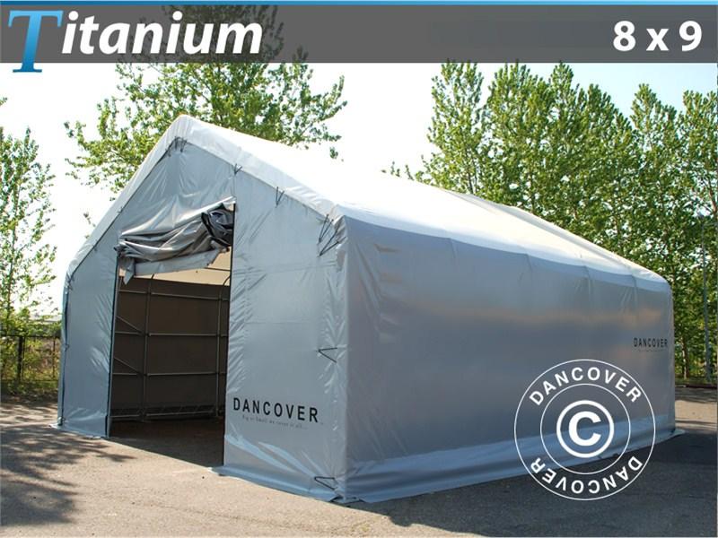 Opslagtent Titanium 8 x 9 x 3 x 5 m